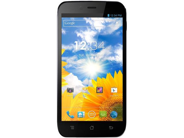 "Blu Studio 5.3S D590a 4 GB ROM, 1 GB RAM Unlocked Cell Phone 5.3"" Black"