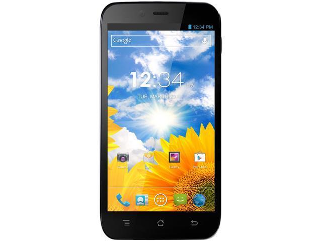 Blu Studio 5.3S D590a Black 3G Quad-Core 1.2GHz Unlocked Cell Phone