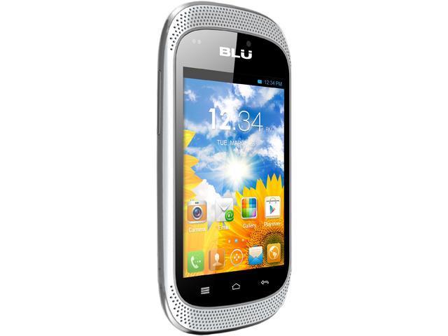 Blu Dash Music D172a White 3G Dual SIM Unlocked Cell Phone