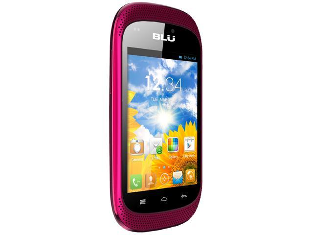 Blu Dash Music D172A Pink 3G Unlocked GSM Dual-SIM Android Cell Phone