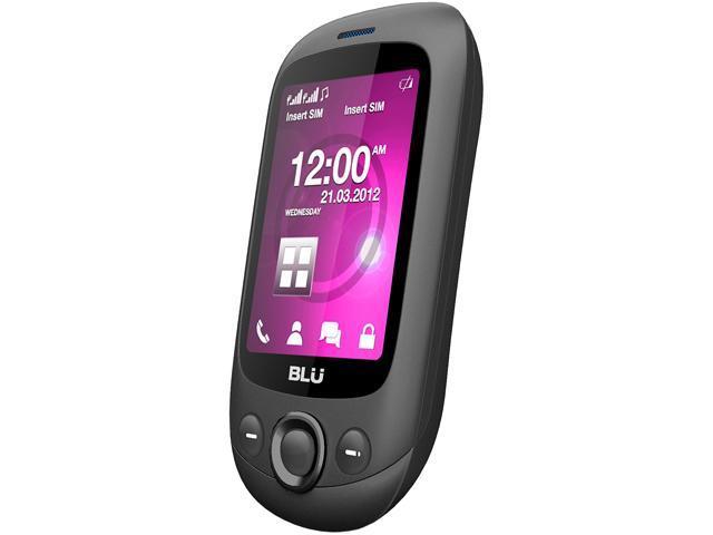 Blu Spark TV S131T Grey Unlocked GSM Dual-SIM Cell Phone