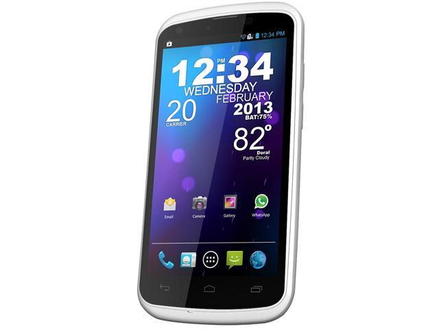 Blu Tank 4.5 W110a White 3G Unlocked Dual SIM Cell Phone