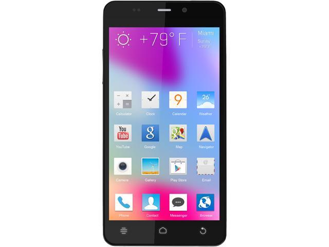 "Blu Life Pure Mini L220a 16GB 3G Unlocked GSM Android Cell Phone 4.5"" 1GB RAM Black"