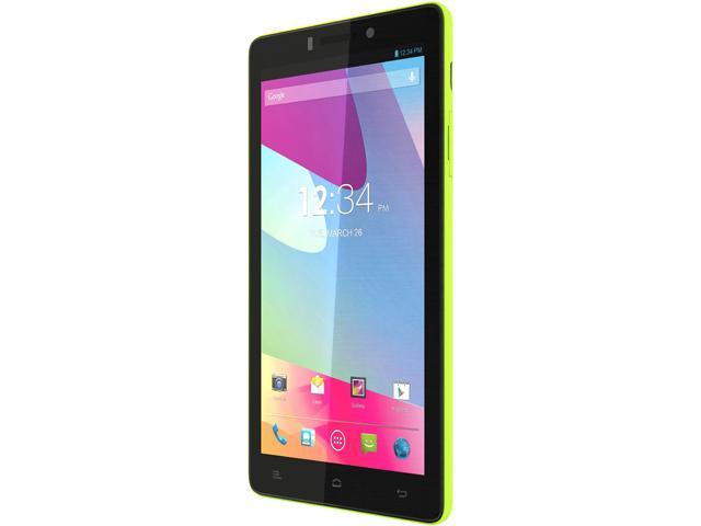 "Blu Vivo 4.8 HD D940a 16 GB, 1 GB RAM 16GB 4G Unlocked GSM Android Cell Phone 4.8"" Yellow"