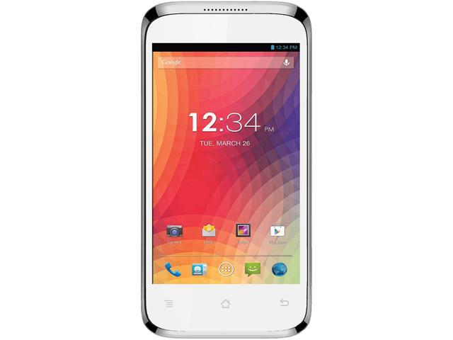 Blu Star 4.0 S410a White 3G Unlocked GSM Android Cell Phone