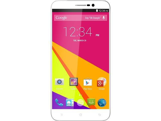 Blu Studio 6.0 LTE Y650Q White 3G 4G LTE Quad-Core 1.6GHz 16GB Unlocked GSM Dual-SIM Phone
