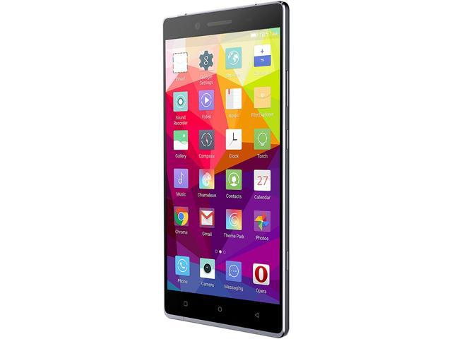 "Blu Pure XL P0010UU 64GB 4G LTE Gray Unlocked GSM 24MP Fingerprint Phone 6"" 3GB RAM"