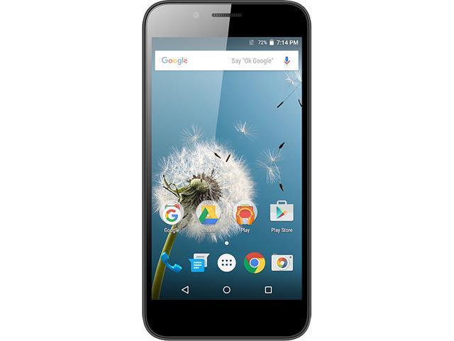 "FIGO Epic 8GB 4G LTE Black GSM Unlocked Android Smart Phone 5"" 1GB RAM"