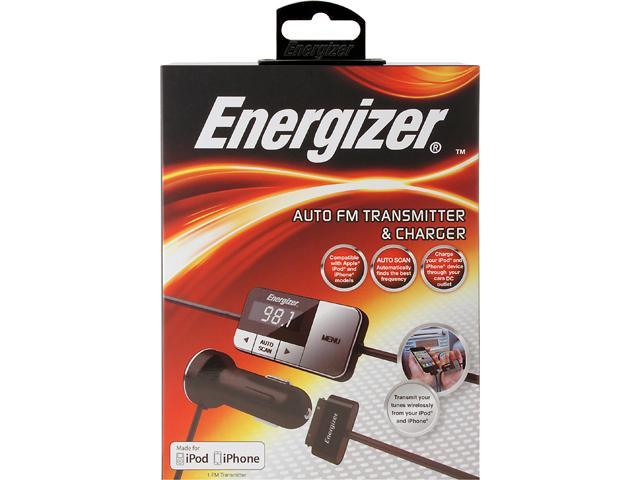 Energizer ENG-FMT3 iPod and iPhone FM Transmitter and Charger