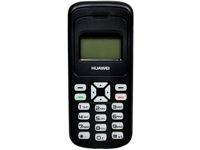 "Huawei G1000 16MB Unlocked Cell Phone 2.4"" Black"