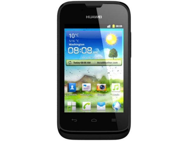 Huawei Ascend Y210D Black Unlocked Dual SIM Cell Phone
