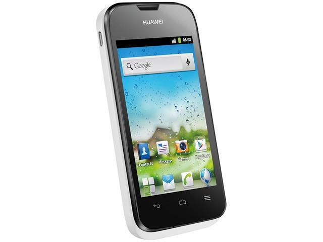 "Huawei Ascend Y210D 512 MB ROM, 256 MB RAM Unlocked GSM Dual-SIM Android Phone 3.5"" White/Black"