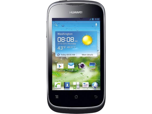 Huawei Ascend Y201 Black Unlocked GSM Android Cell Phone
