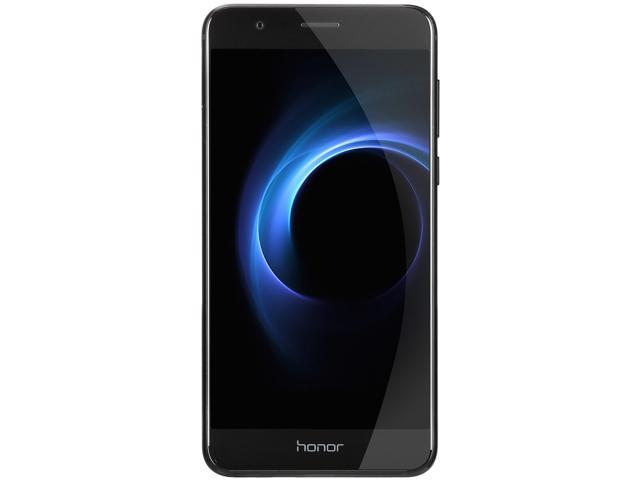 Huawei - Honor 8 Dual Camera Unlocked Smartphone 32GB Midnight Black - US Warranty