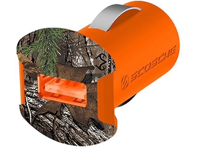 SCOSCHE SCH-USBC121MRT reVOLT Camo Realtree USB Car Bullet Charger