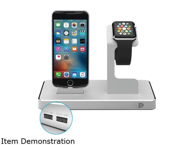 Press Play PPODMFI/SLV Silver Apple Watch / iPad / iPhone / iPod OneDock Powerstation with Lightning Dock