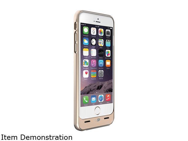 Press Play Gold iPhone 6 Plus/6s Plus Venue Battery Case PPI6PBCV-GLD