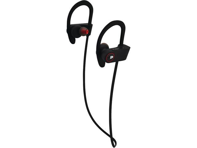 Press Play PPAS1EB/RED Black/Red ActiveSport Bluetooth Over-Ear Headphones with Microphone
