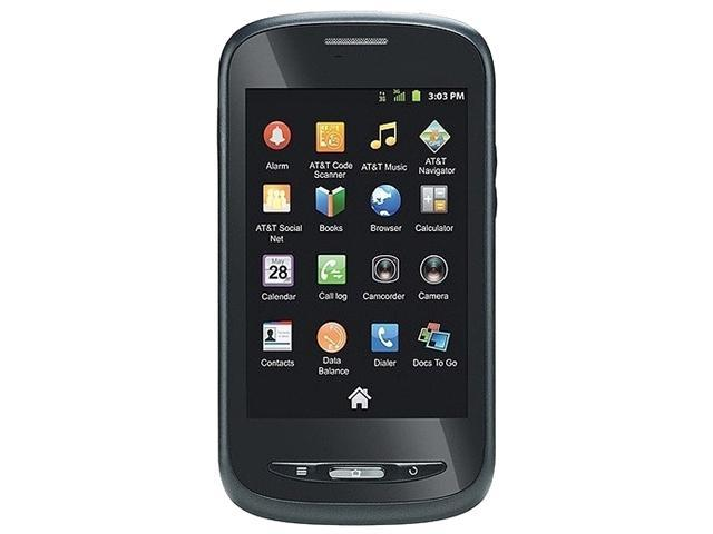 "ZTE Avail Z990 512 MB ROM, 512 MB RAM Unlocked GSM Android Cell Phone 3.5"" Black"