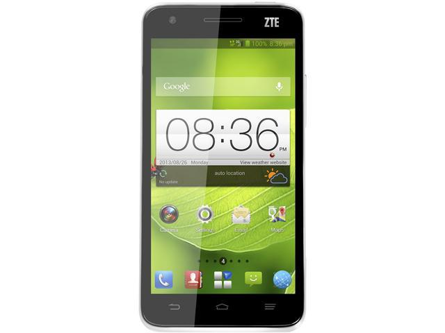 "ZTE P864B01 16GB Grand S Smartphone 5"" Black"