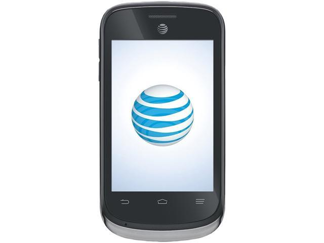 ZTE AT&T Avail II Z992 Black Unlocked GSM Android 4.1 Cell Phone