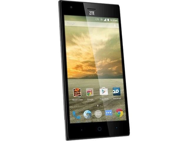 ZTE Warp Elite Black Boost Mobile Cell Phone