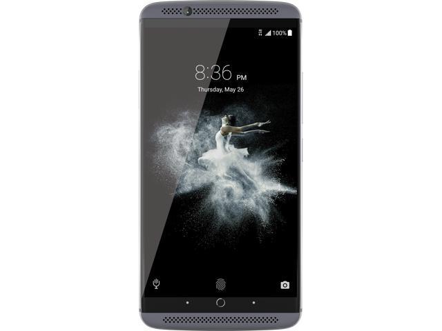 "ZTE AXON 7 64GB 4G LTE Quartz Gray Dual SIM Unlocked Smartphone 5.5"" 4GB RAM (North America Warranty)"