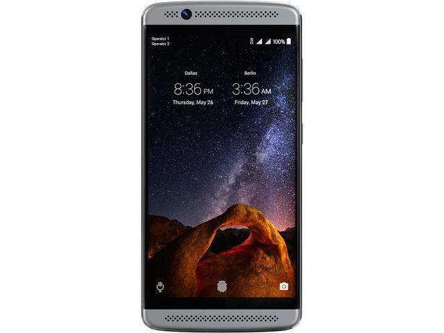 clients zte axon unlocked smartphone 32gb storage 2gb ram only CBS sure