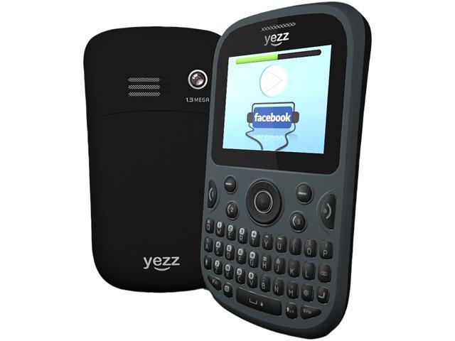 "Yezz Ritmo 2 YZ420 16 MB + 32 MB Unlocked Dual SIM Cell Phone 1.8"" Gray"