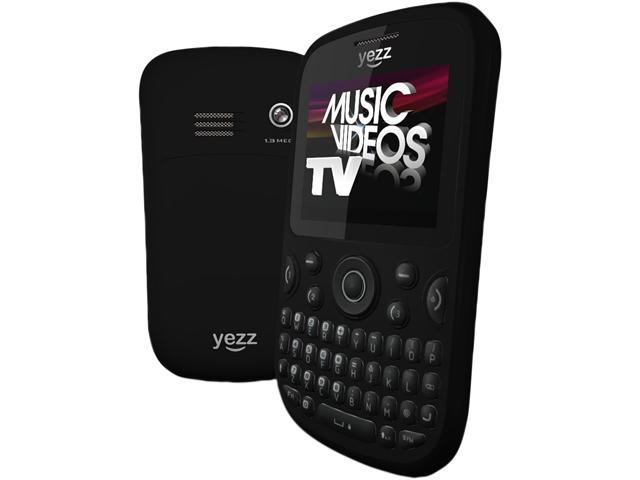 Yezz Ritmo 3 TV YZ433 Black Unlocked Triple SIM Cell Phone