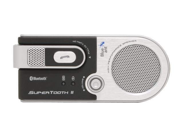 BlueAnt Supertooth II Sun visor mounted Bluetooth Speakerphone