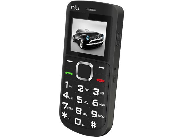 NIU Domo 2 N202 Black Unlocked Dual SIM Cell Phone