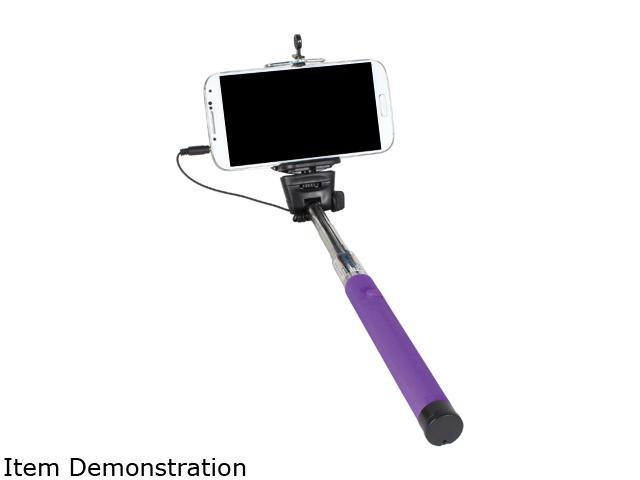 PC Treasures Purple Wired Selfie Stick 70073-PG