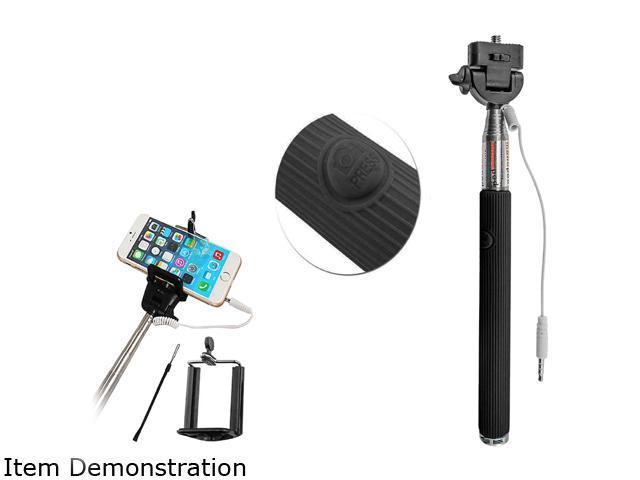 Carco Selfie Go Sticks Black Wired Selfie Stick WSS03