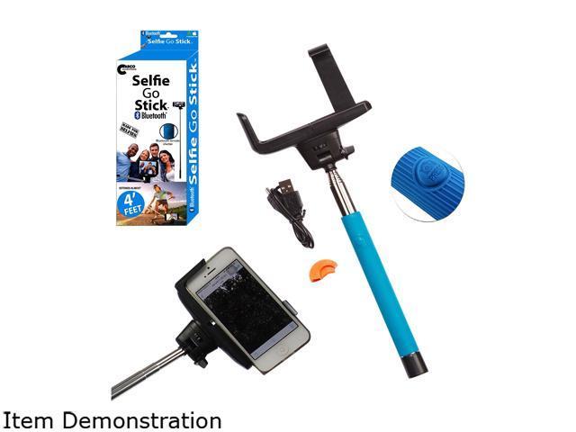 Carco Selfie Go Sticks Blue Bluetooth Selfie Stick BSS01-BL