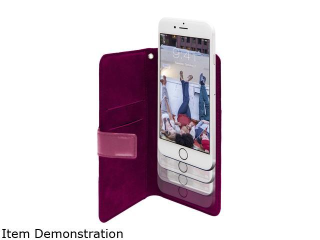 case LOGIC Pink Universal Folio Case for up to 5.5