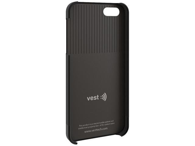 Vest Anti-Radiation Black Case for iPhone 5 / 5s vst115001