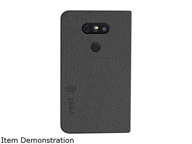 Vest Grey Anti-Radiation Wallet Case for LG G5 vst115075