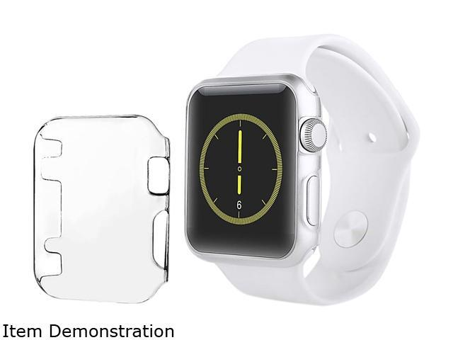 Insten Clear Slim Thin Hard Snap On Protective Case For Apple Watch iWatch 42MM Sport Edition 2112999
