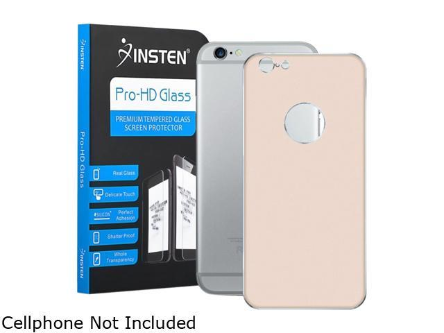Insten Gold Back Protective Screen Protector Guard Shield For Apple iPhone 6 2113330