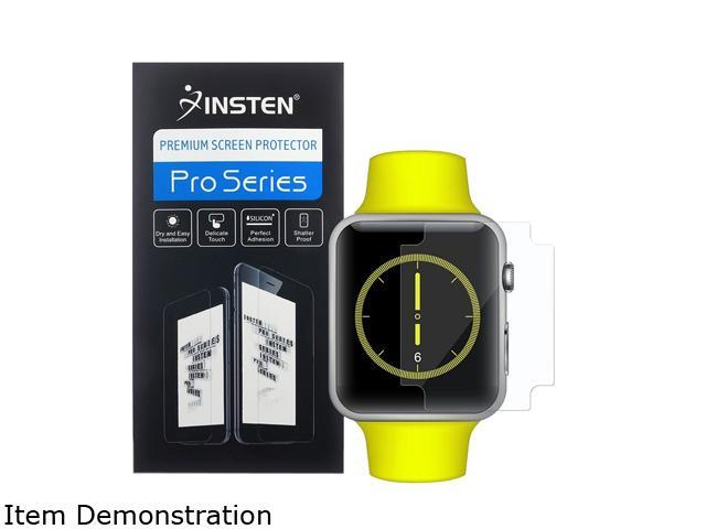 Insten Clear TPU Screen Protector LCD Film Guard Shield For Apple Watch iWatch 38mm 2113337