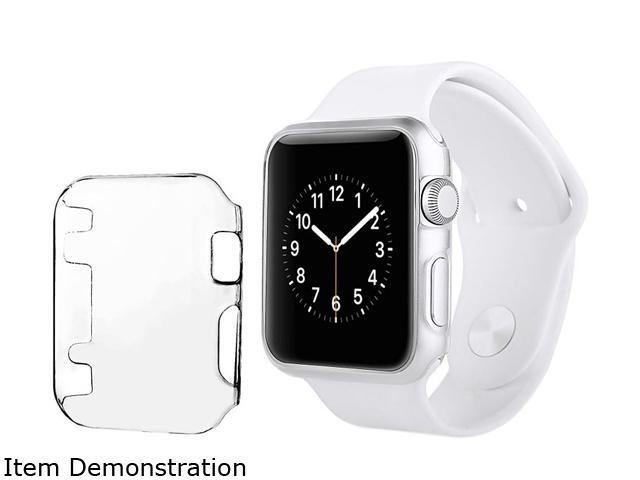 Insten Clear For Apple Watch 38MM Sport Edition Slim Thin Snap On Hard Clear Protective Case 2117819