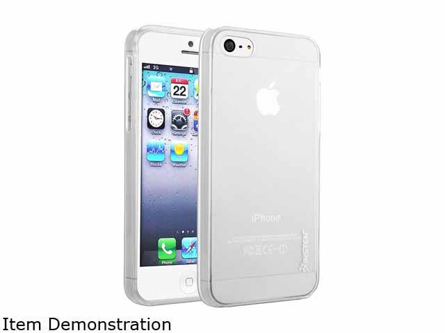 Insten Frost Clear White TPU Case Compatible with Apple iPhone 5S 1304401