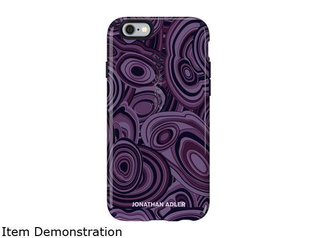 Speck Products CandyShell Inked Jonathan Adler MalachitePurple/BerryBlack Glossy Case for iPhone 6s & iPhone 6 73990-5126
