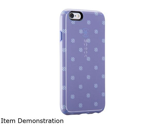 Speck Products CandyShell Inked Stripe Polka Heather/Wisteria Purple Case for iPhone 6s & iPhone 6 73774-C141