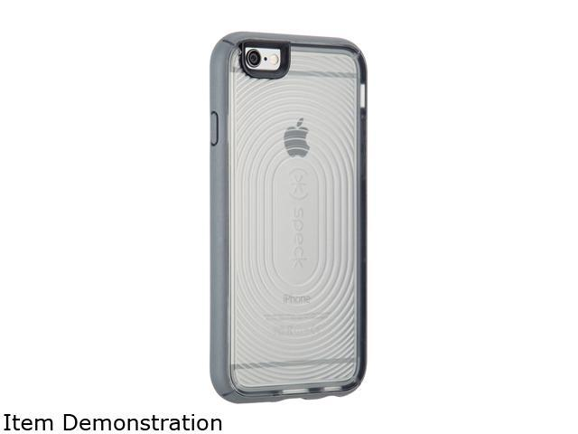 Speck Products MightyShell Clear/Clear/Slate Grey Case for iPhone 6 / 6s 73801-C107