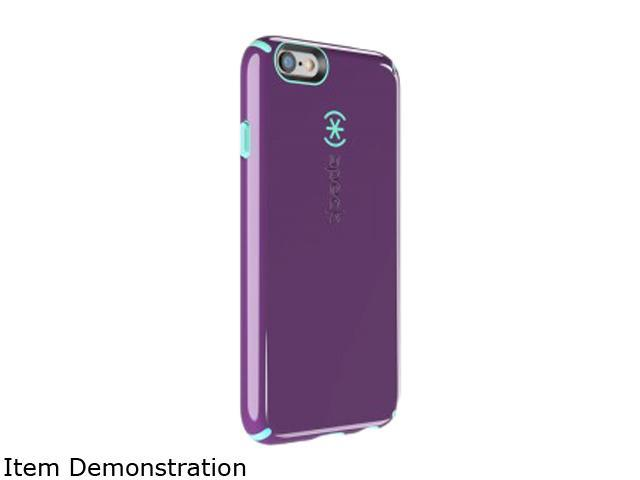 Speck Products CandyShell + Faceplate Acai Purple/Aloe Green Case for iPhone 6 / 6s 74013-C256