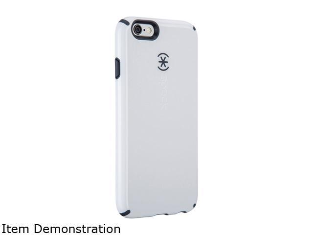 Speck Products CandyShell + Faceplate White/Charcoal Grey Case for iPhone 6 / 6s 74013-B860