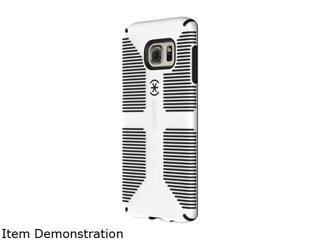 Speck Products CandyShell Grip White/Black Case for Samsung Galaxy S6 edge+ 73070-1909