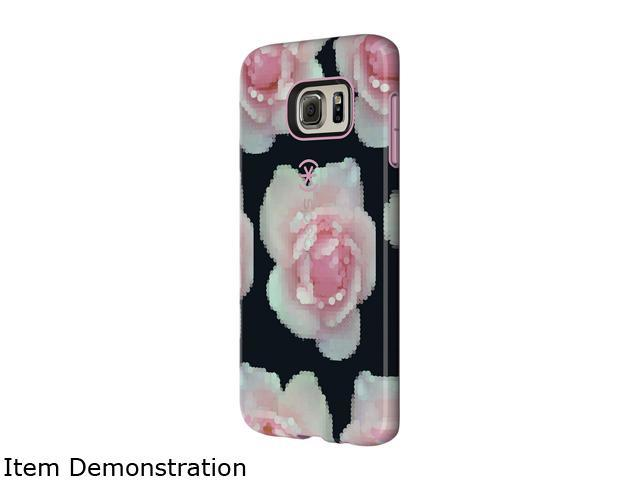 Speck Products CandyShell Inked Pixel Rose/Pale Rose Case for Samsung Galaxy S6 edge+ 73071-C261
